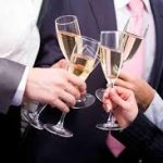 Manhattan Yacht Charters: Champagne toast