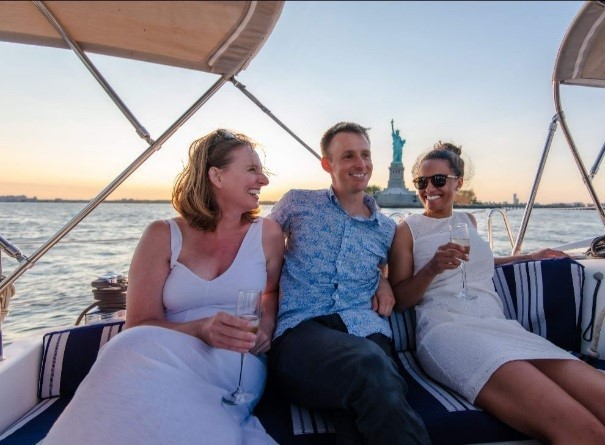 blue space- yacht charters NYC