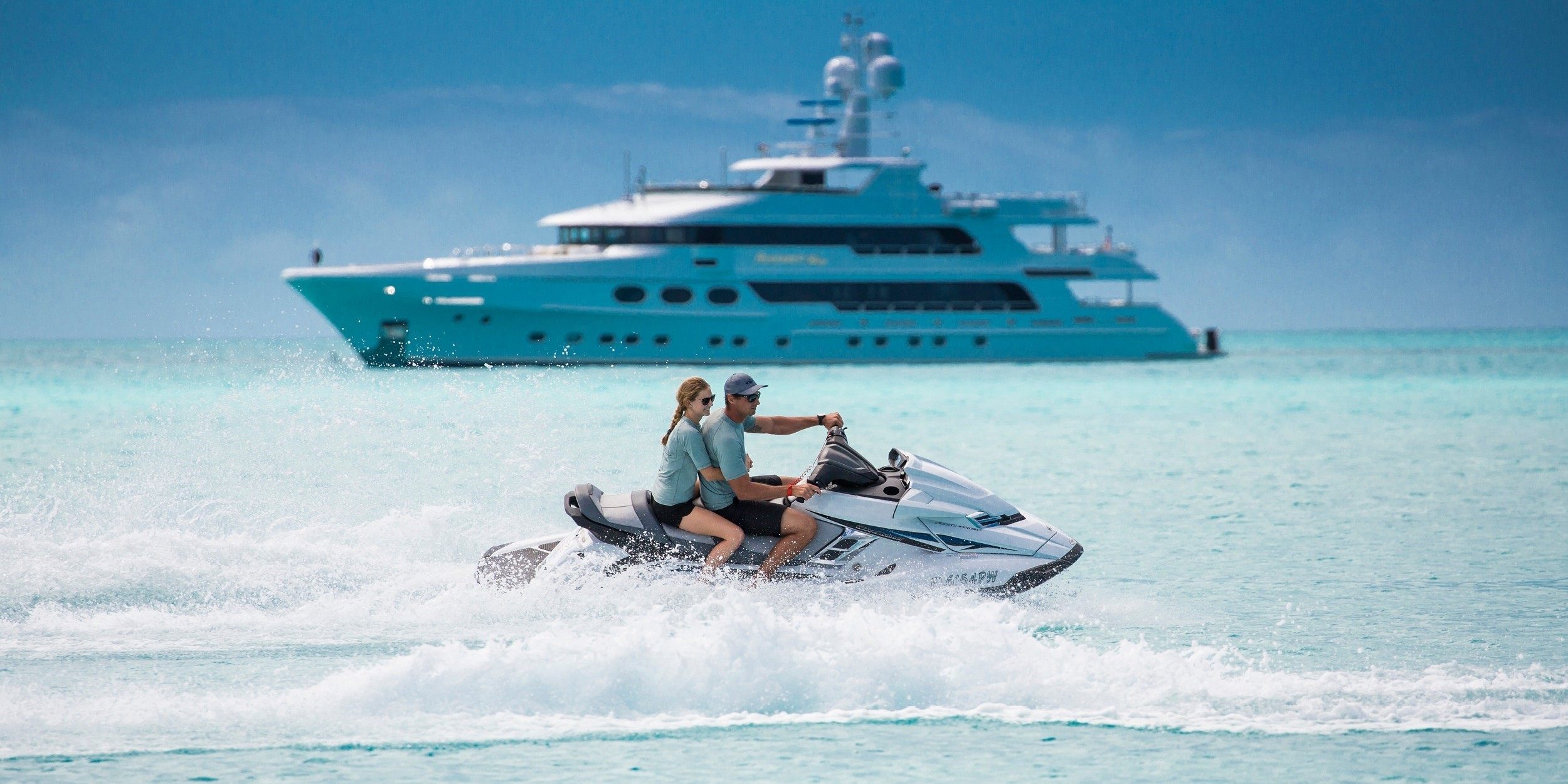 luxury yacht charters in the summer